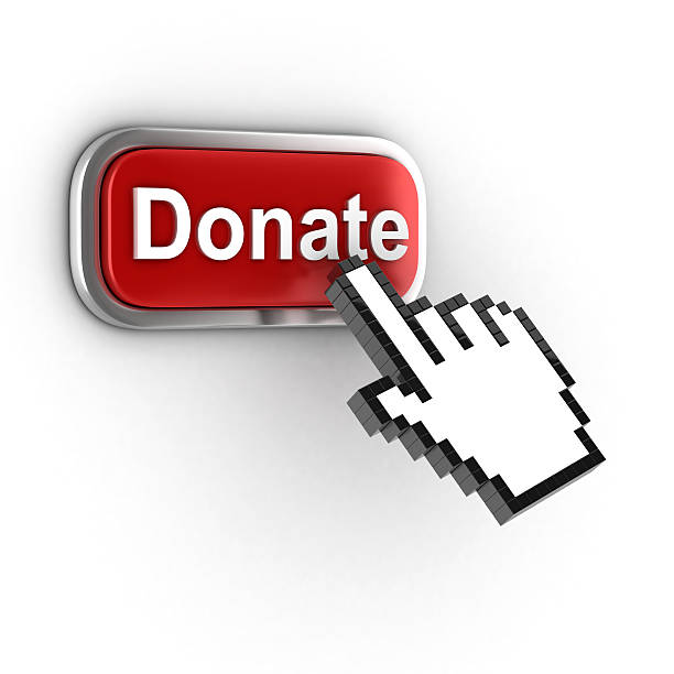 donate 3d button - contributor stock pictures, royalty-free photos & images