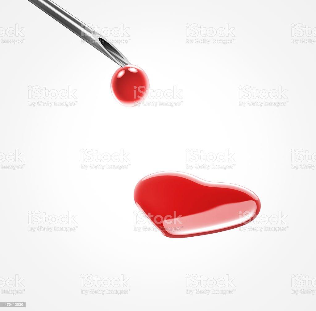donate blood heart shape stock photo