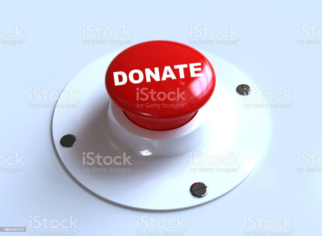Doar botão - Foto de stock de Altruísmo royalty-free