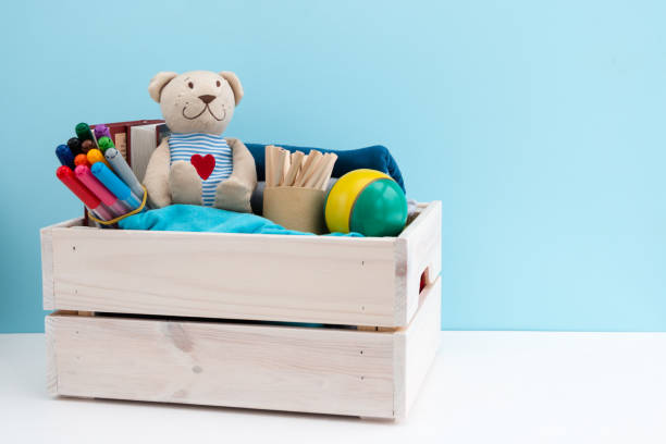 donation box. - toy stock pictures, royalty-free photos & images