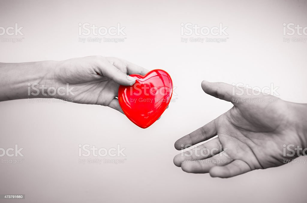 Donation stock photo