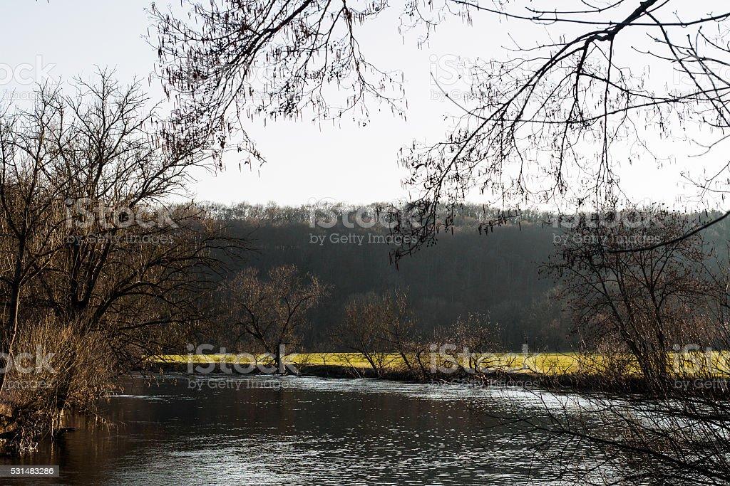 Donau stock photo