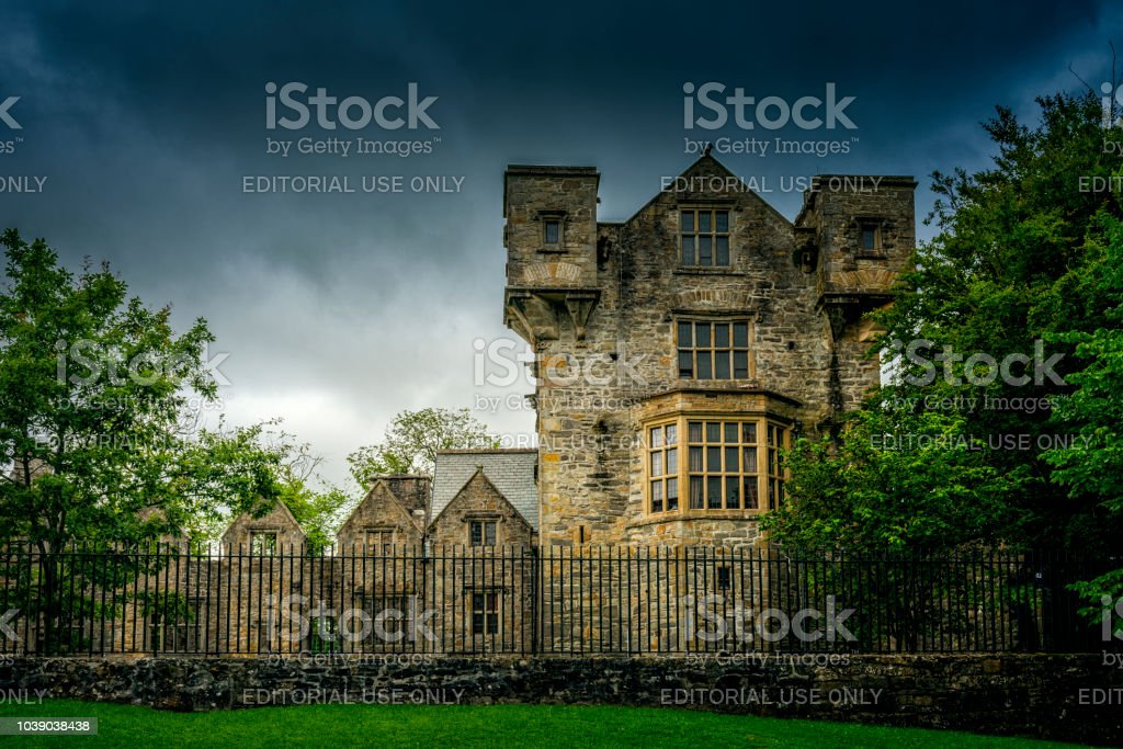 Donegal Castle in Ireland stock photo
