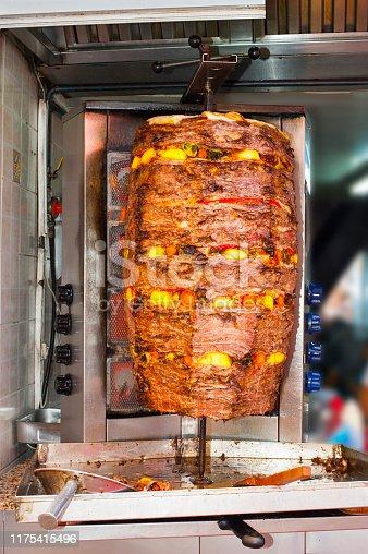 Doner kebab with vegetables