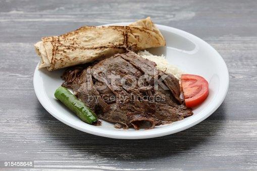 Doner Kebab With Yogurt