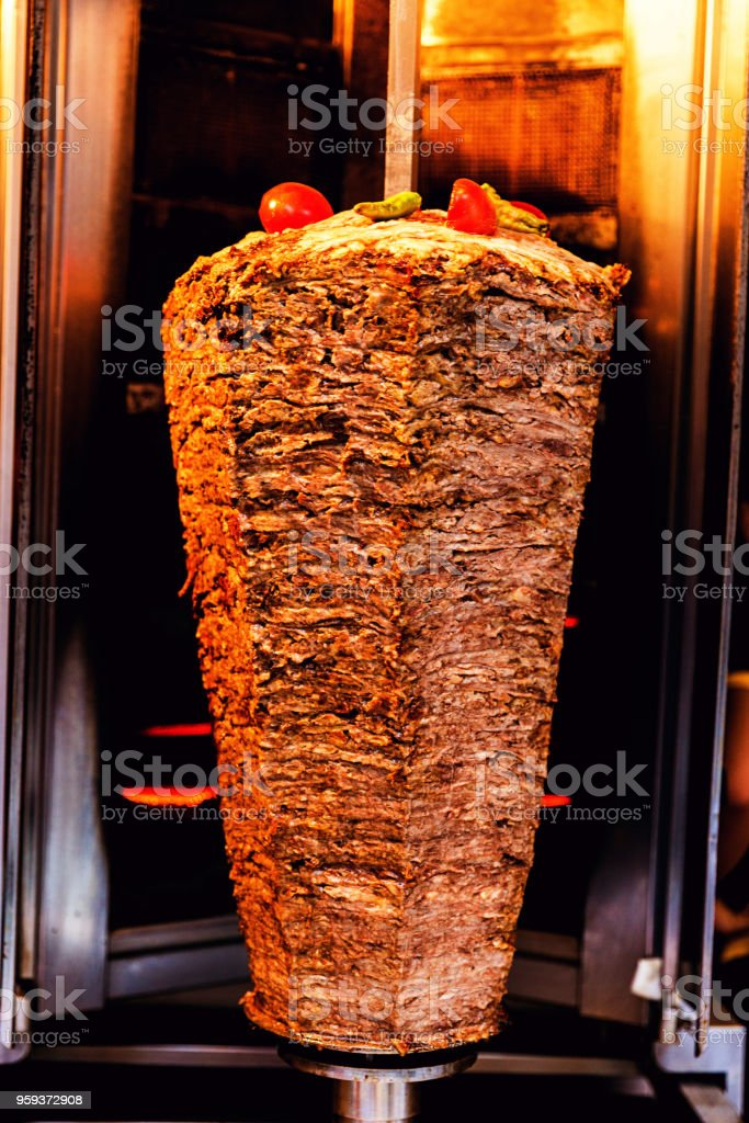Doner Kebap stock photo