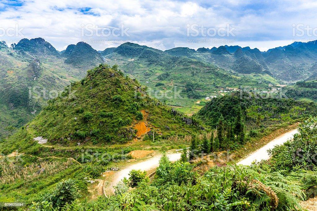 Dong Van (Ha Giang),Vietnam stock photo