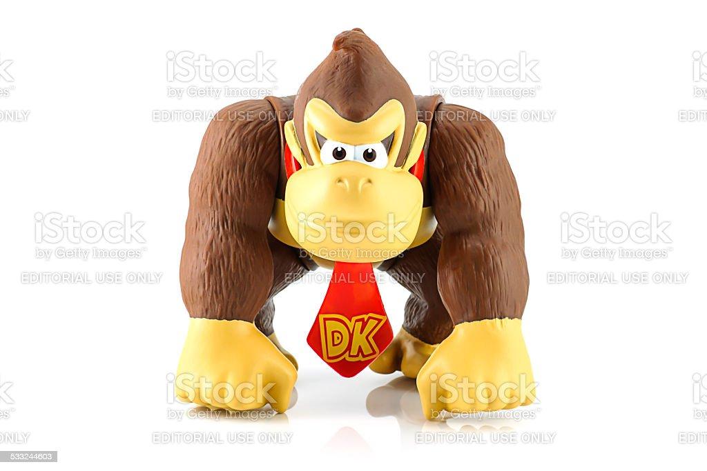 Donkey Kong figure character stock photo