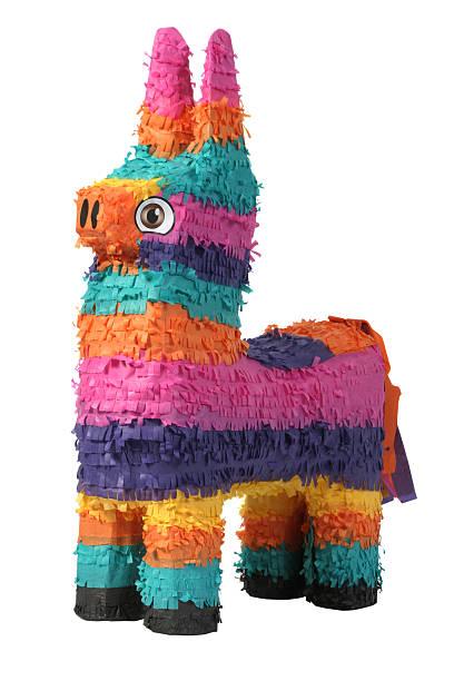 Donkey pinata stock photo