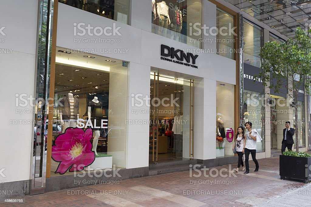 Donna Karan New York stock photo