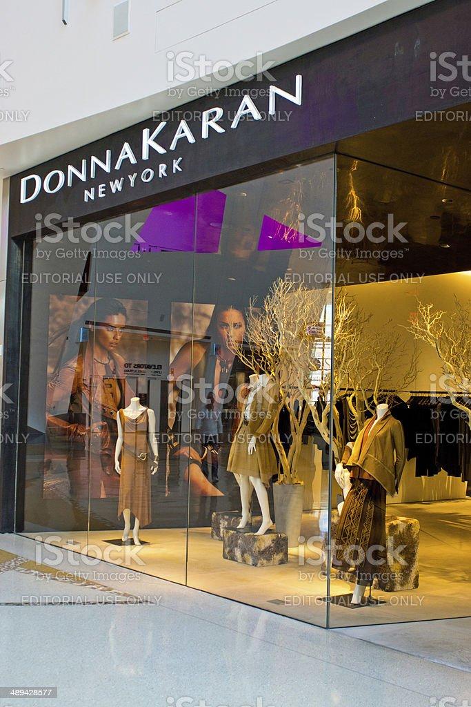 Donna Karan Shop stock photo