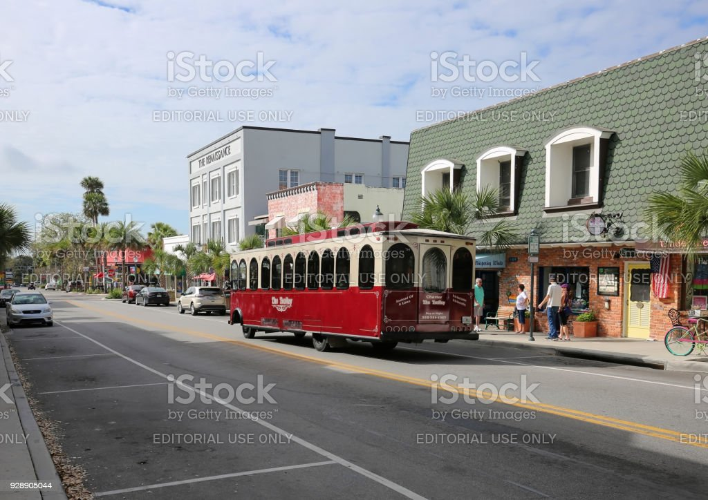 Donnelly Street a busy tourist destination stock photo