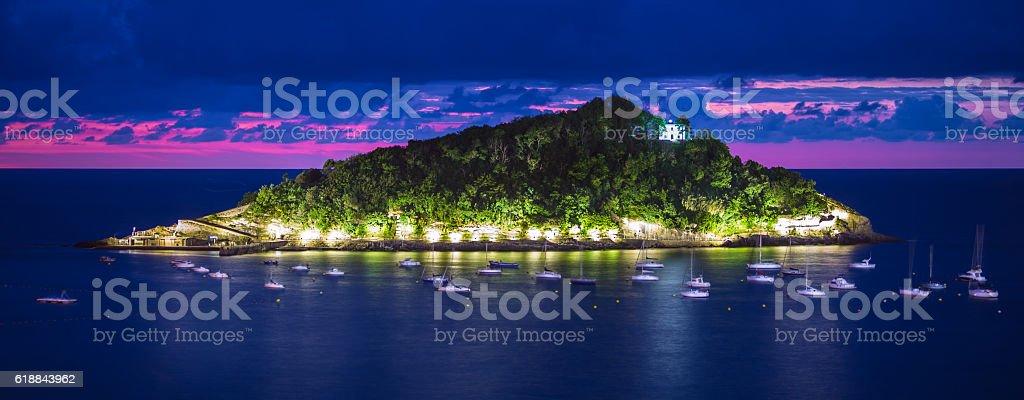 Donostia San Sebastian stock photo