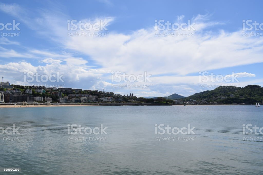 Donostia - San Sebastian stock photo