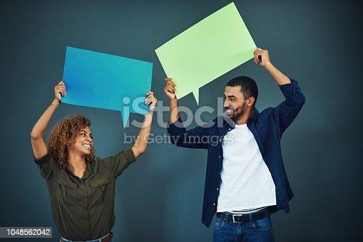 1048561866 istock photo Don't be afraid to speak your mind 1048562042