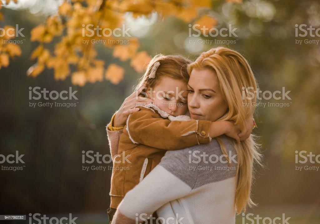 Seien Sie nicht traurig, Mama ist da! – Foto