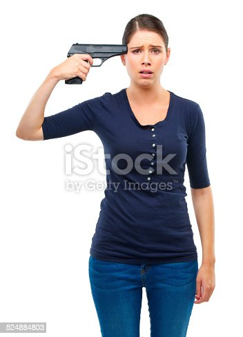 istock Don't become a victim of your own mind 524884803