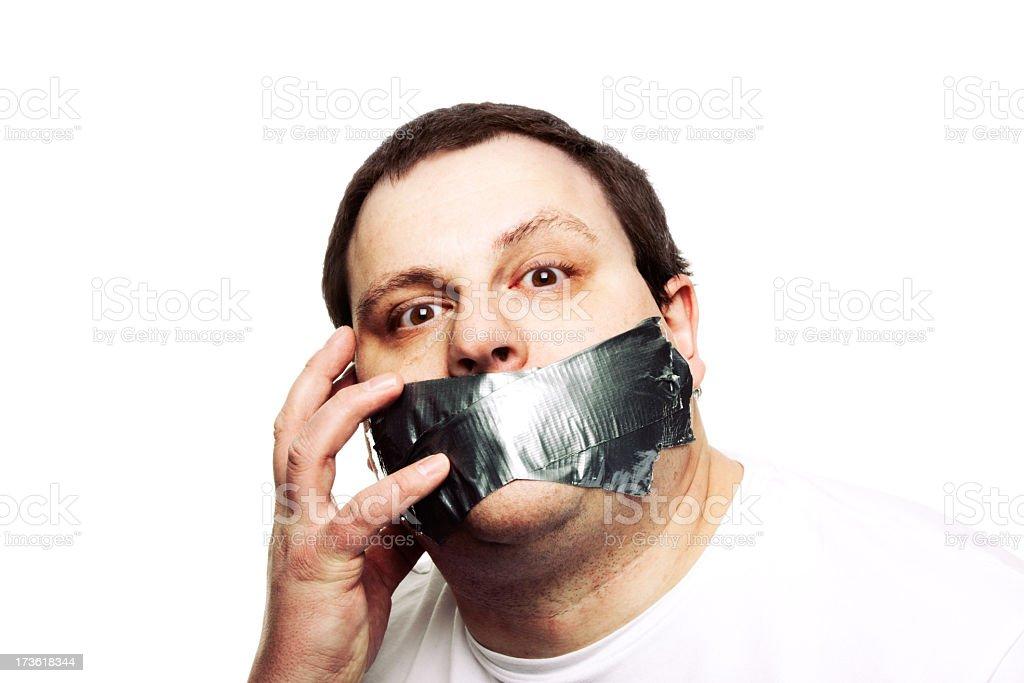 Don't Censor Me! royalty-free stock photo