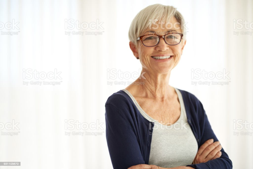 Don't count the years. Make every year count stock photo