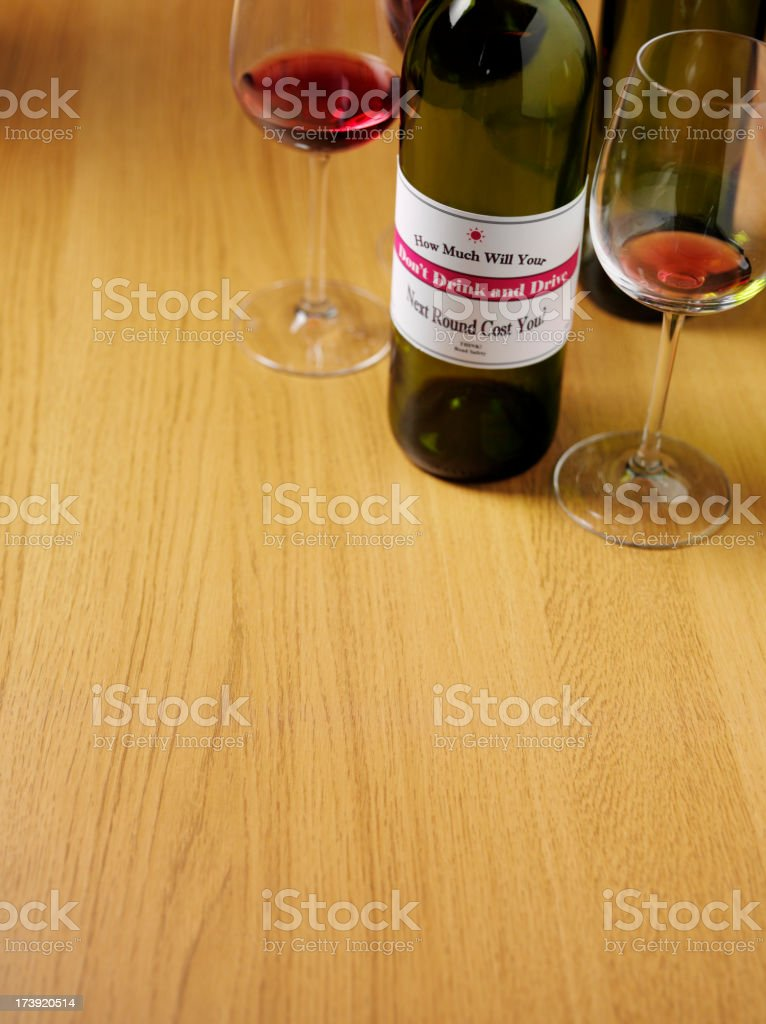 Don't Drink Drive royalty-free stock photo