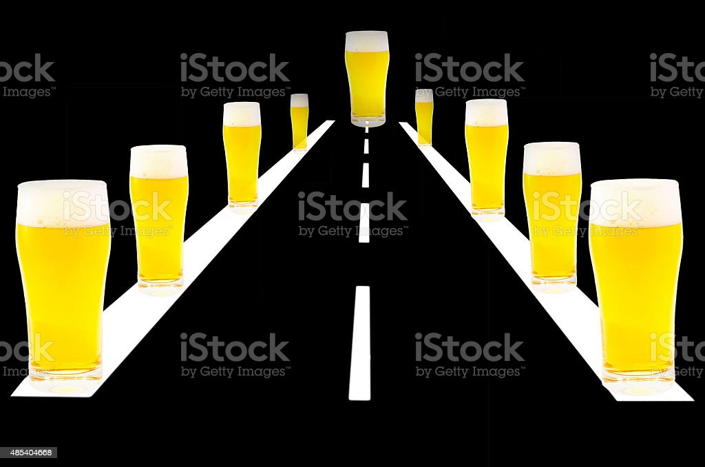 Don't Drink & Drive stock photo