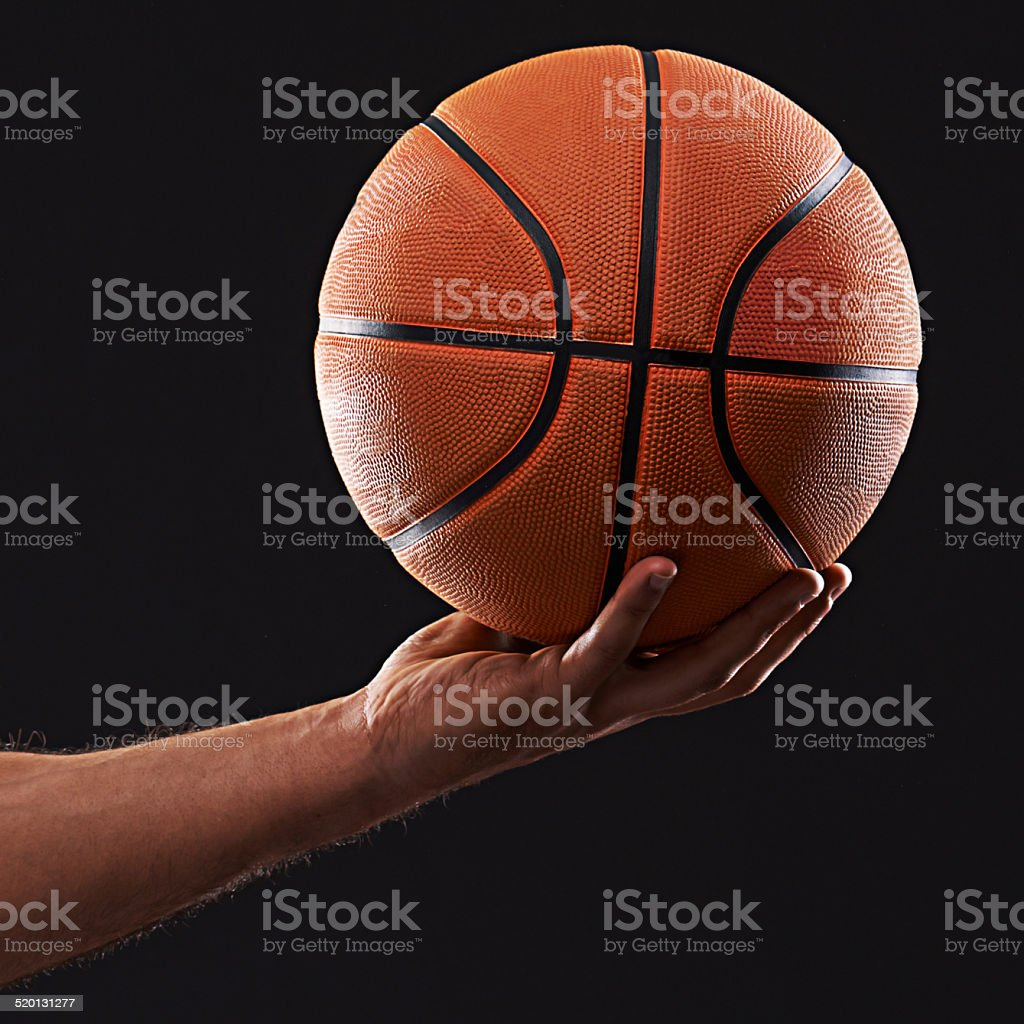Don't drop the ball stock photo