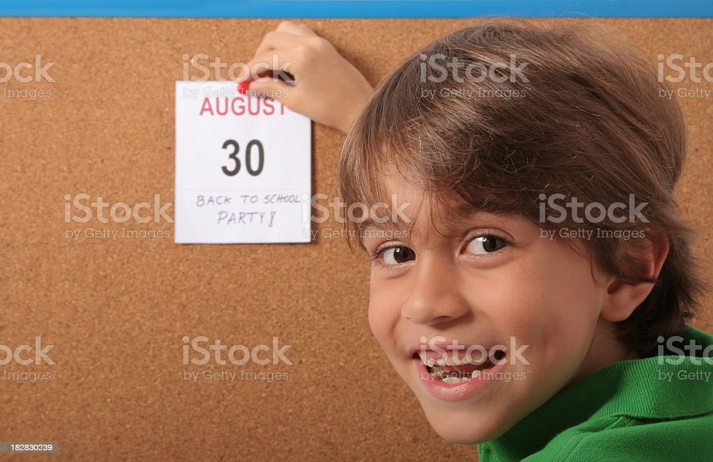 Don't Forget The Back To School Party stock photo