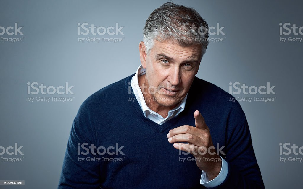 Don't get on my bad side stock photo