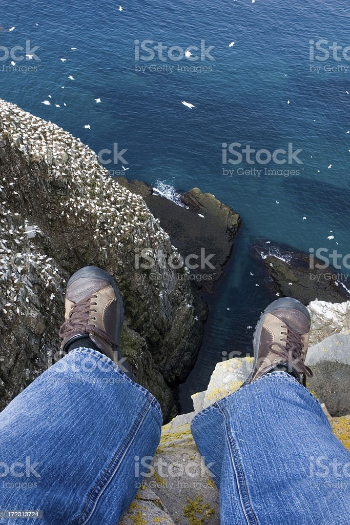 Don't Jump! royalty-free stock photo