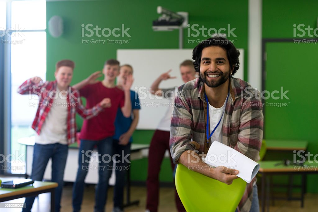 Don't let him hear us! stock photo