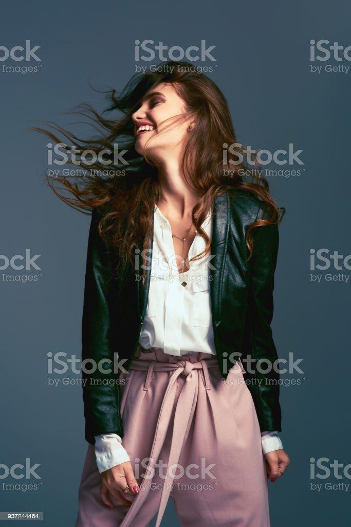 I don't let society dress me, I follow my own rules stock photo