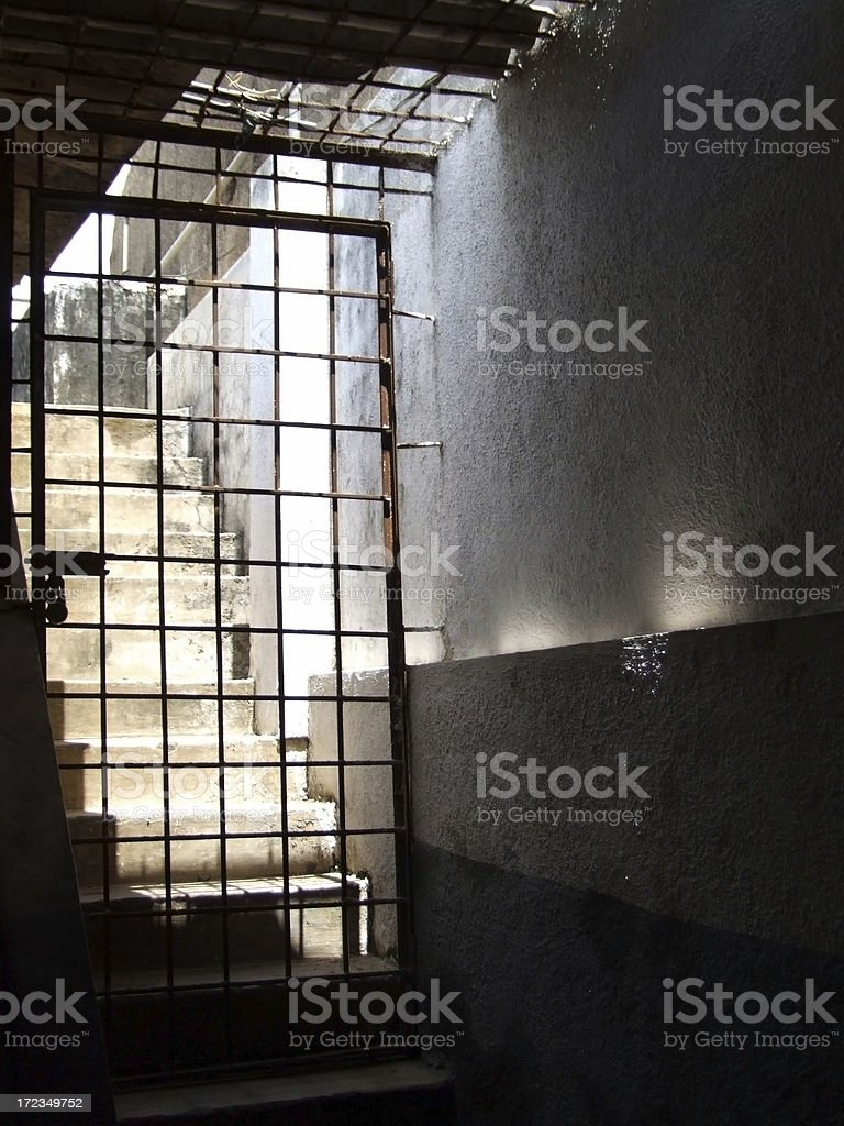Don't let the sunshine in ! royalty-free stock photo