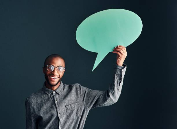don't like what i have to say? too bad! - abstract logo stock photos and pictures