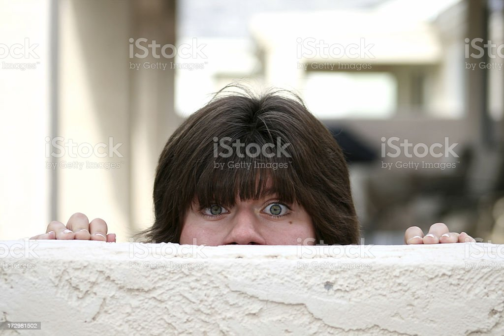 Don't Like what I See stock photo