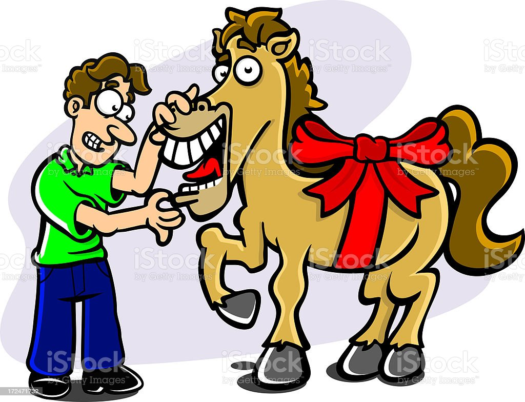 Dont look a gift horse in the mouth geschenkter gaul stock photo dont look a gift horse in the mouth geschenkter gaul royalty free stock photo negle Choice Image