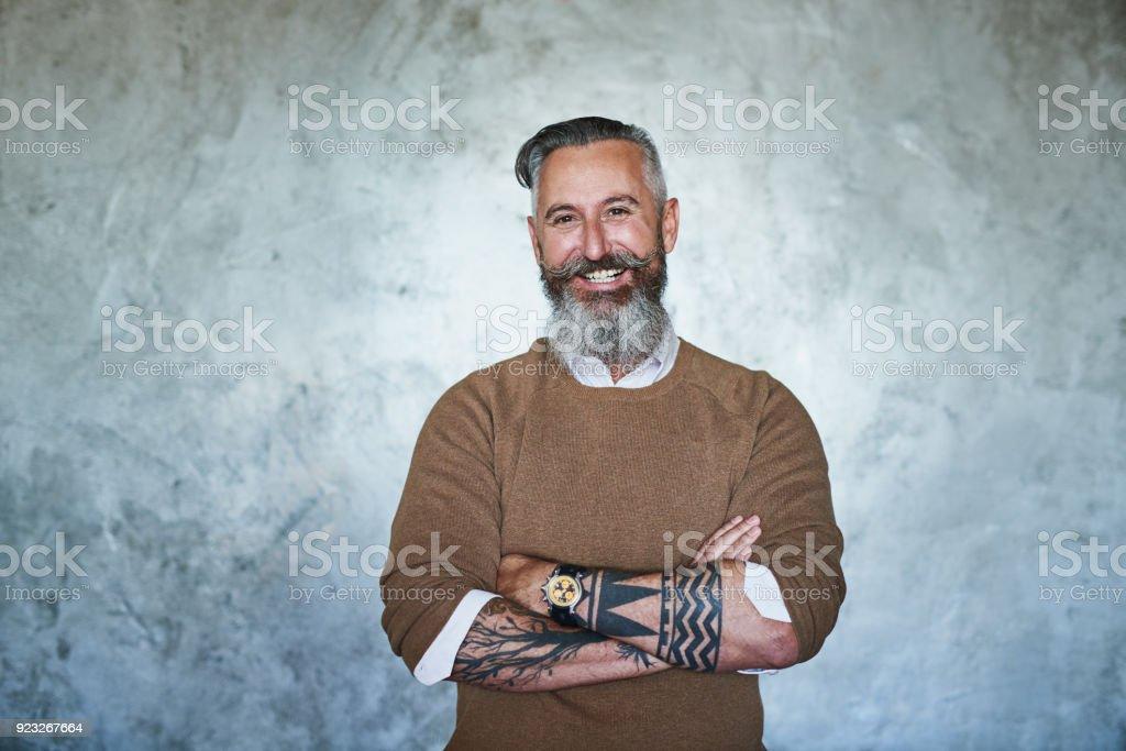 Don't mess with o chefe - foto de acervo