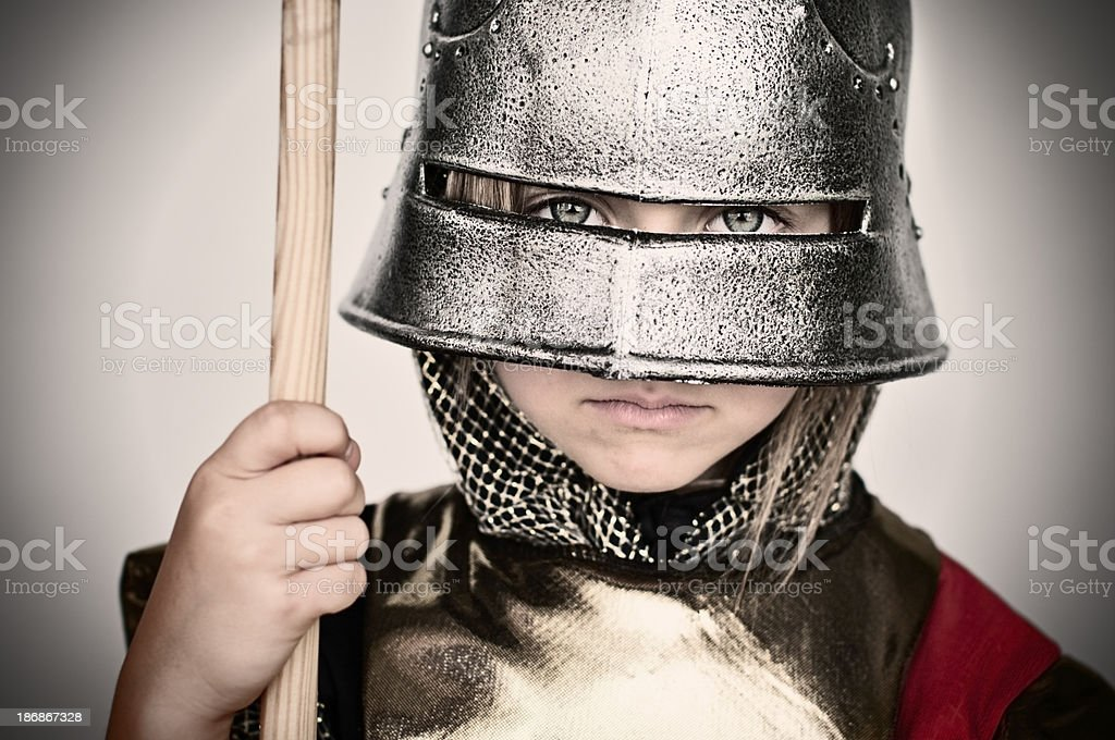 Don't mess with the city guard royalty-free stock photo