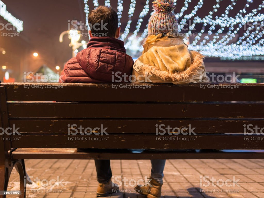 Don't mind coldness stock photo