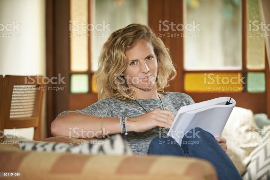 I don't need much to relax royalty-free stock photo