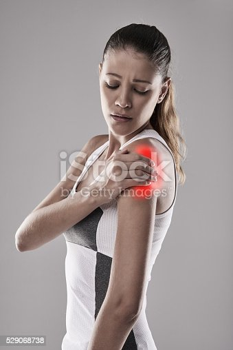 istock Don't push yourself to the point of pain 529068738