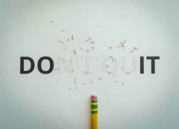 Don't quit turned to do it. Don't quit turned to do it. taking the plunge stock pictures, royalty-free photos & images
