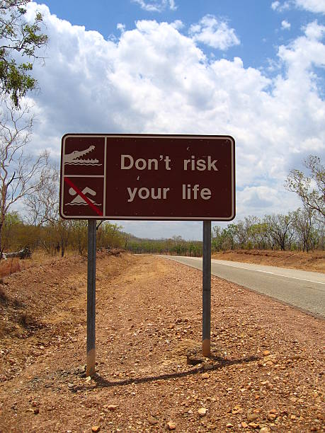 Don't Risk Your Life stock photo