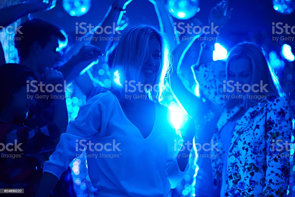 Don't stop the party! stock photo