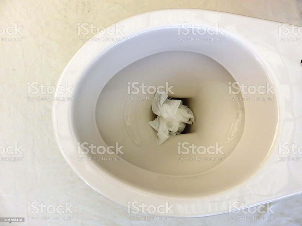 Don't throw trash stock photo
