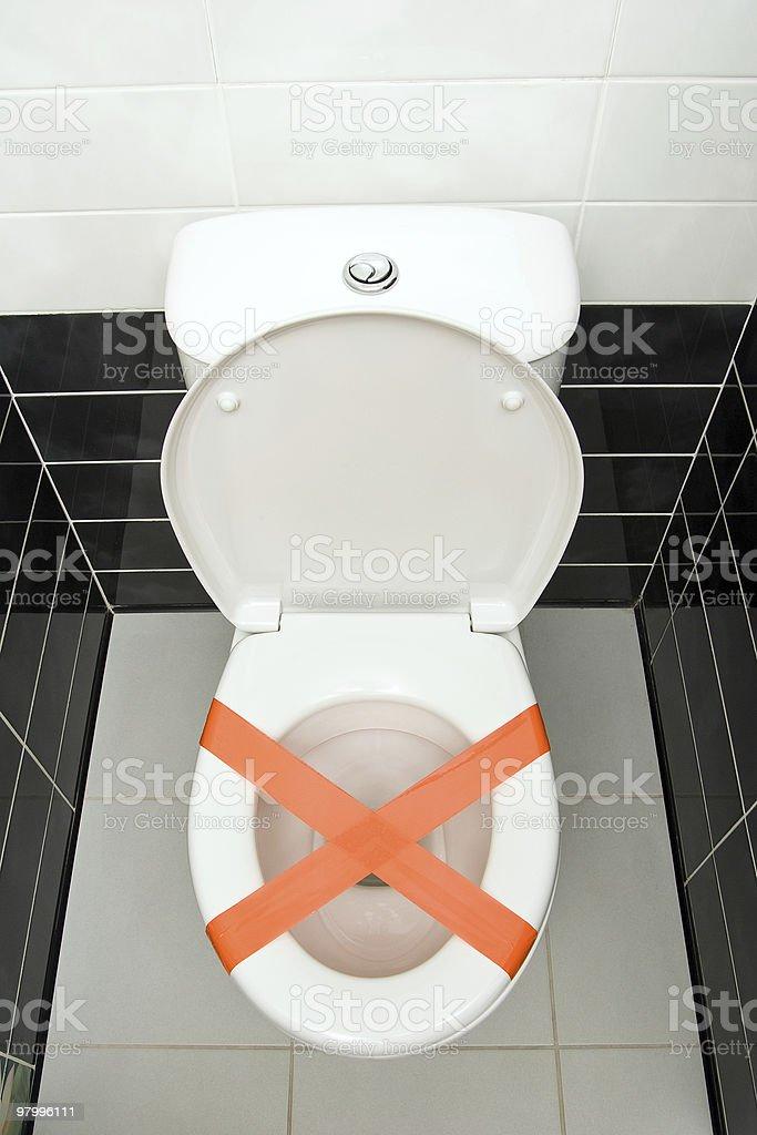 Don't throw trash royalty-free stock photo