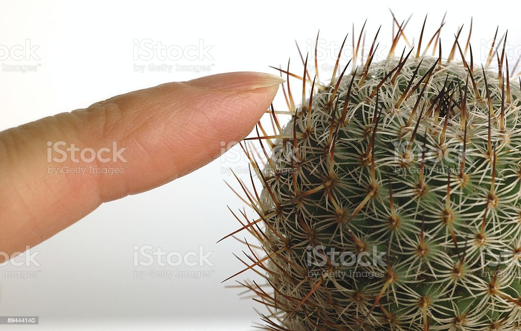 Don't touch! royalty-free stock photo