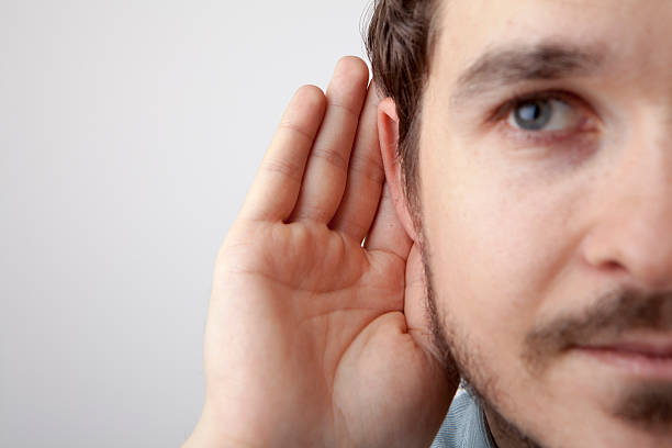 i don't understand - ear stock photos and pictures