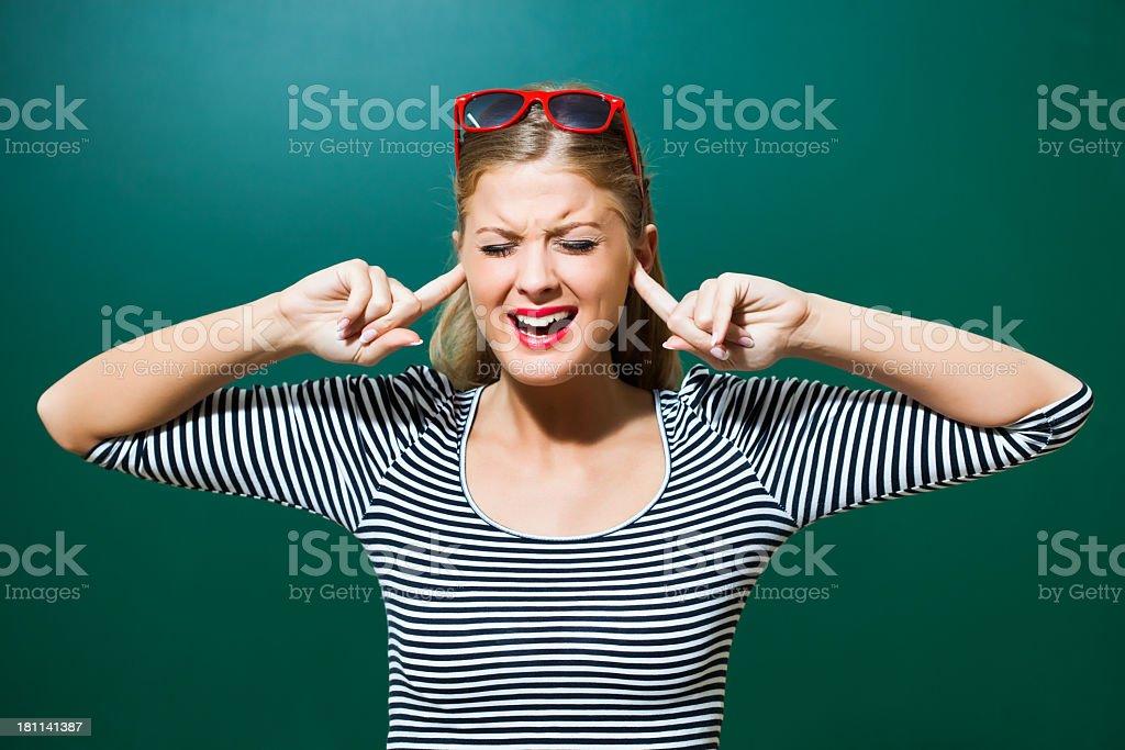 I don't wanna hear stock photo