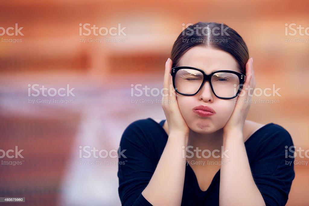 don't wanna hear stock photo