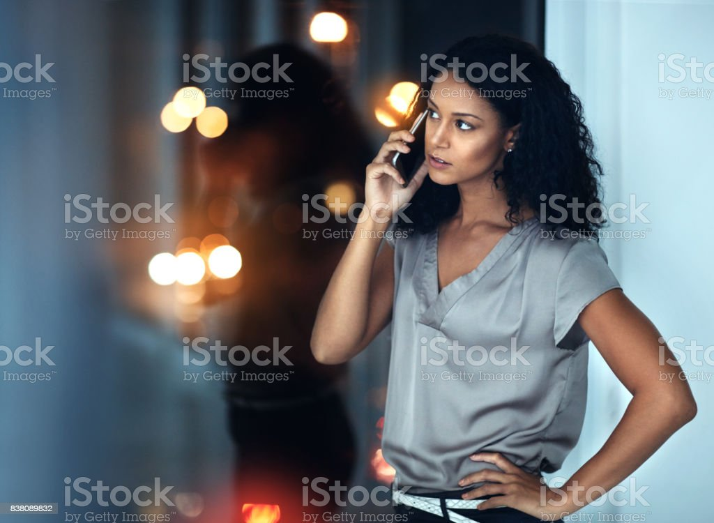I don't want to hear excuses, just get it done stock photo